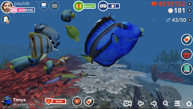 Ocean Reef Life - 3D Virtual Aquarium APK screenshot 1