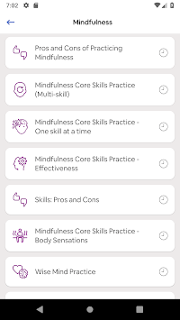 DBT Coach APK screenshot 1