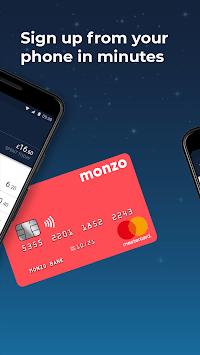 Monzo Bank APK screenshot 1