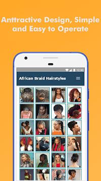 500+ Top African Braids Hairstyles Fashion Offline APK screenshot 1