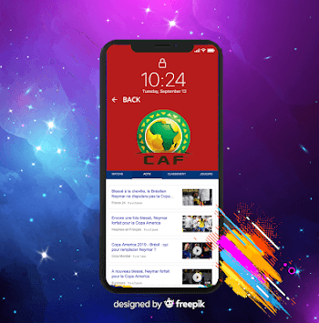 Live Scores Africa Cup 2019 (CAN 2019) APK screenshot 1