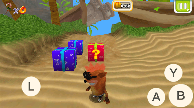 Crash Island APK screenshot 1