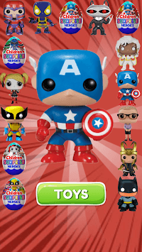 Surprise Eggs Superheroes APK screenshot 1