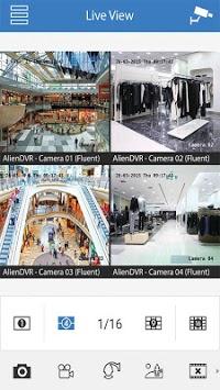 Alien DVR Mobile Client APK screenshot 1