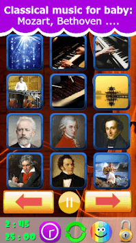 Classical music for baby 2019 APK screenshot 1