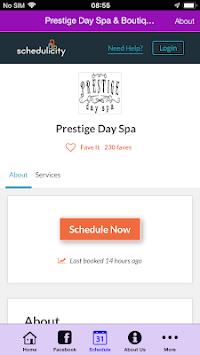 Prestige Day Spa APK screenshot 1
