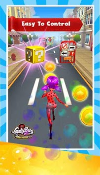 Subway Lady Bug Cat Noir Rush 2019 APK screenshot 1