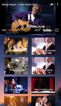Kenny Rogers Full Album Video APK screenshot 1