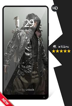 Cool Player's Battlegrounds Game Wallpapers HD APK screenshot 1