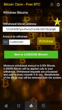 bitcoin free claim btc apk