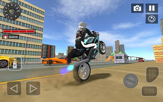 Sports bike simulator Drift 3D APK screenshot 1