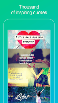Quotes Maker APK screenshot 1