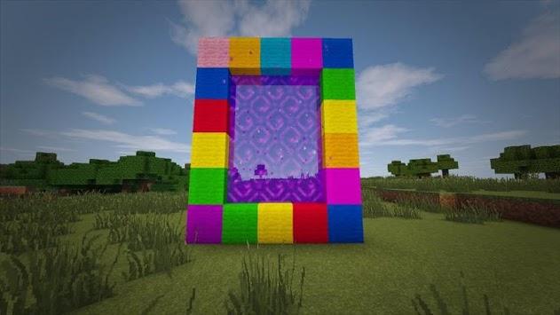 Portal Teletransport Minecraft Ideas APK screenshot 1