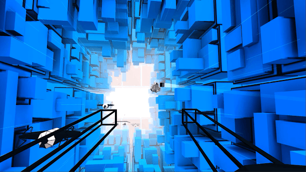 Voxel Fly VR APK screenshot 1