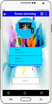 Connector Tv ( usb-otg-hdmi-mhl-connect phone ) APK screenshot 1