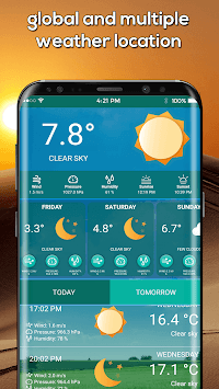 Weather Channel Free Weather Forecast App & Widget APK screenshot 1