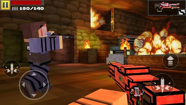 Pixel Shooting 3D APK screenshot 1