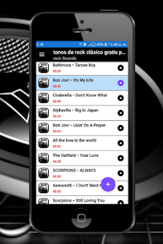 classic rock music ringtones free for cell phone APK screenshot 1