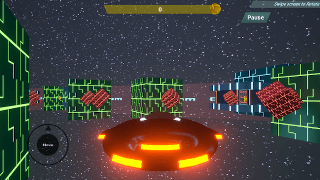 Edvog Space Coins Collector (3D Platformer) APK screenshot 1