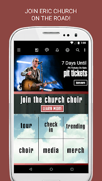 Eric Church APK screenshot 1