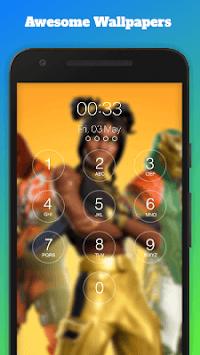 FortLock - Battle Royale Lock Screen & Wallpapers APK screenshot 1