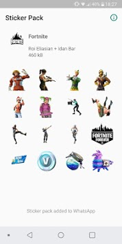 WAStickerApps - Fortnite Stickers APK screenshot 1
