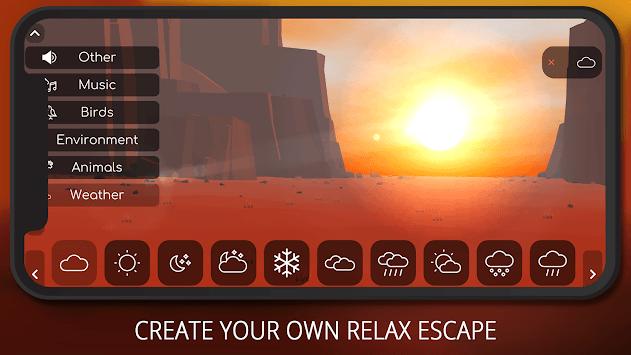 Relax Vistas - Sleep & Meditation Sounds & Vistas APK screenshot 1