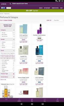 FragranceNet APK screenshot 1