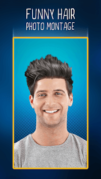 Funny Hair Photo Montage APK screenshot 1