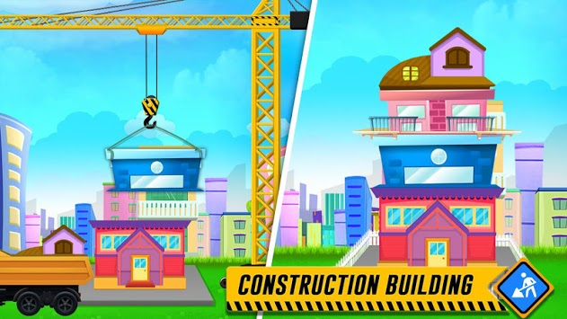 Little Builder - Construction Simulator For Kids APK screenshot 1