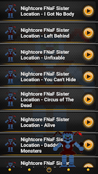 Nightcore FNaF Sister Location Song Ringtones APK screenshot 1