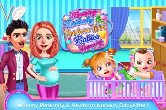 Mommy Maternity & Newborn Twins Babies Nursery APK screenshot 1