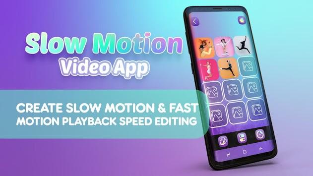 Slow Motion Video App - Photo Gif Maker APK screenshot 1