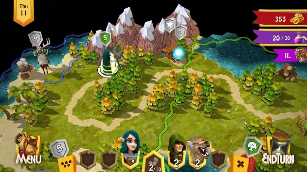 Heroes of Flatlandia - Demo APK screenshot 1