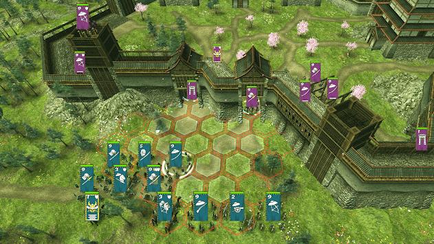 Shogun's Empire: Hex Commander APK screenshot 1