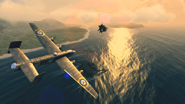 Warplanes: WW2 Dogfight APK screenshot 1