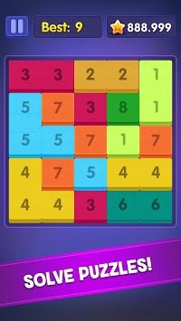 Merge 13! Number Block Puzzle APK screenshot 1