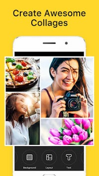 Photo Collage Maker - POTO APK screenshot 1