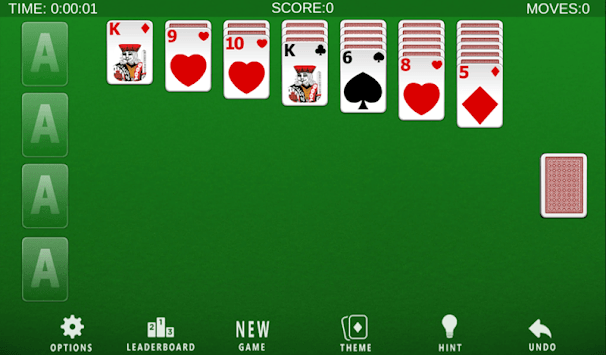 Klondike Solitaire APK screenshot 1
