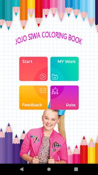 Jojo Siwa Coloring Book APK screenshot 1