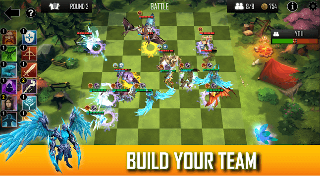Auto Chess Defense - Mobile APK screenshot 1