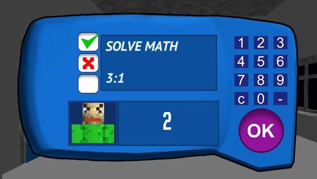 Crazy Teacher Math in education school APK screenshot 1