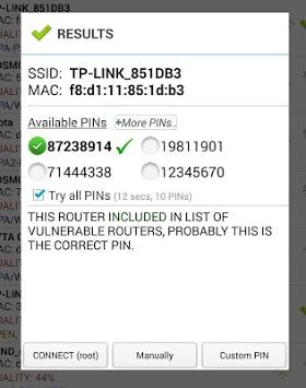 Wifi WPS Plus APK screenshot 1