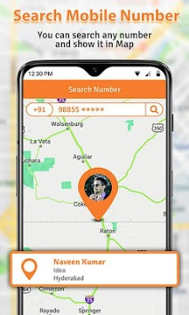 Number Locator & Caller Location APK screenshot 1