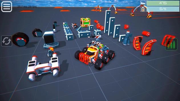Block Tech : Epic Sandbox Car Craft Simulator Test APK screenshot 1