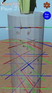 Dropping Tumblin Monkeys Falling - 3D Sticks Up APK screenshot 1