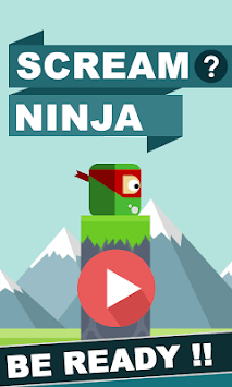 Scream Go Ninja APK screenshot 1