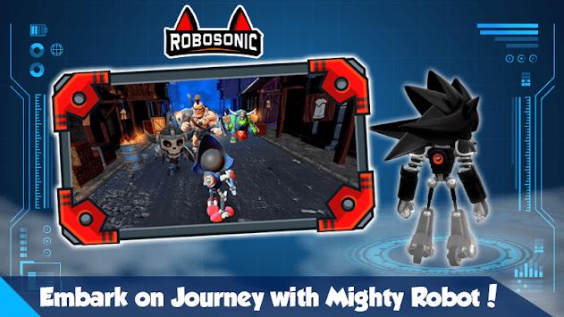 Robot Sonic Games APK screenshot 1