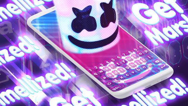 Marshmello Keyboard Backgrounds APK screenshot 1