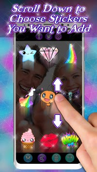 Snappy Photo Editor Stickers - Filters for Selfies APK screenshot 1